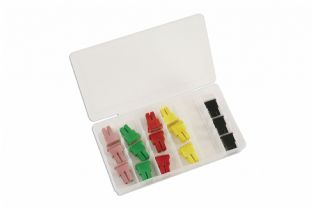 Connect 30727 18 Piece Assorted PAL Female Fuses